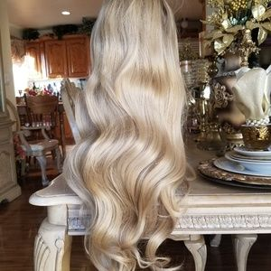 Ombre Blonde Lace Front Wig